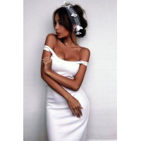 Платье Jane белое