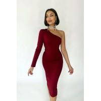 Платье Inel винный