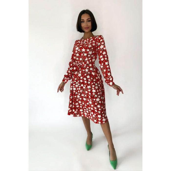 Платье Bloom красный