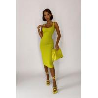 Платье Jane оливка