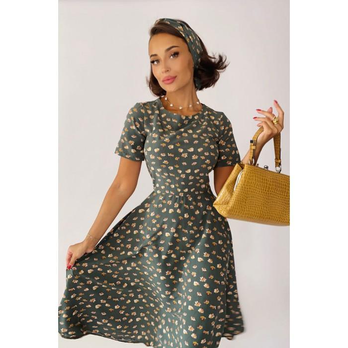 Платье Kase зелёный