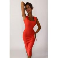 Платье Cool коралл