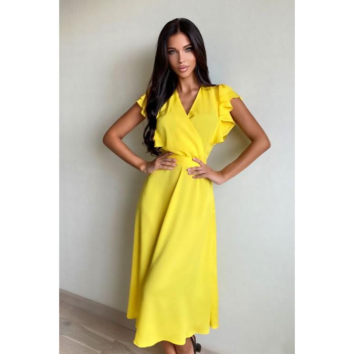 Платье Pump желтый