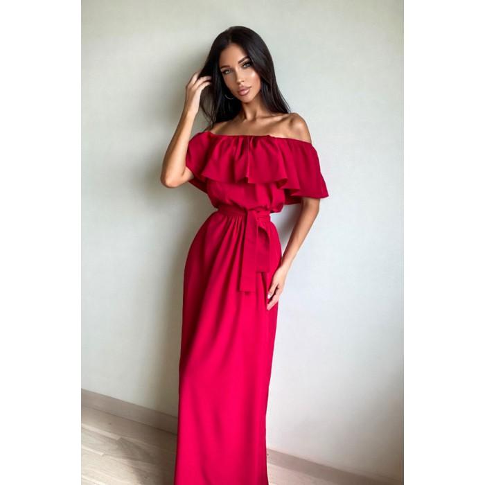 Платье Barbara красный