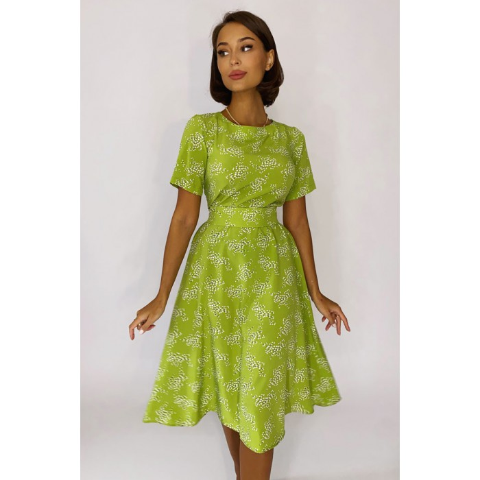 Платье Kase оливка