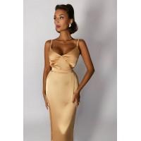 Платье-комбинация Lusy  шампань