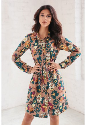 Платье Reichel коричневый