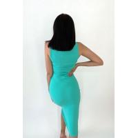 Платье-майка Jane мятного цвета