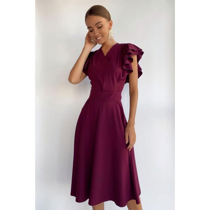 Платье Pump  винное