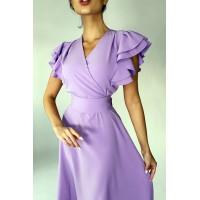 Платье Pump лиловое