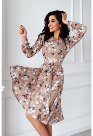 Платье Bloom капучино