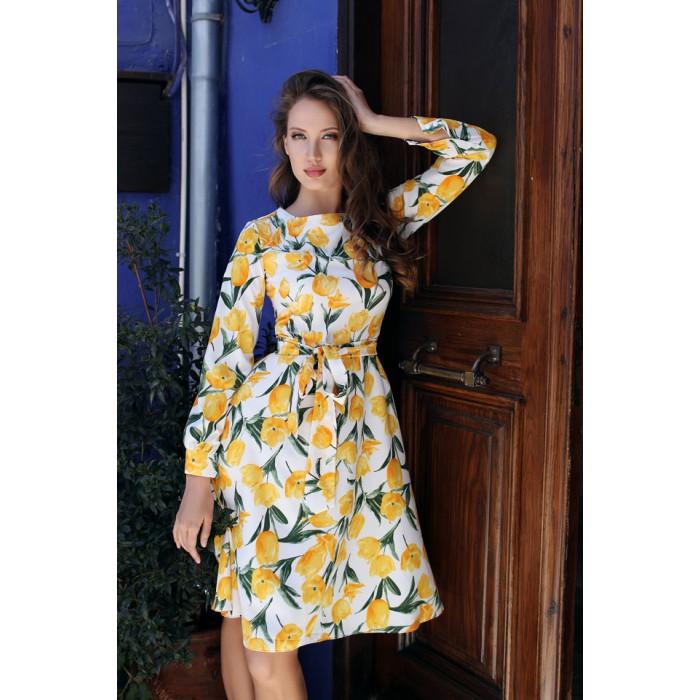 Платье Maki желтый