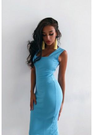 Платье Cool голубой