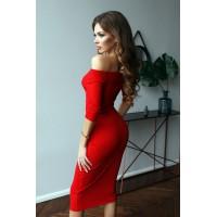 Платье Deikon красный