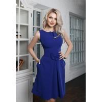 Женственное платье с карманами Bant синего цвета