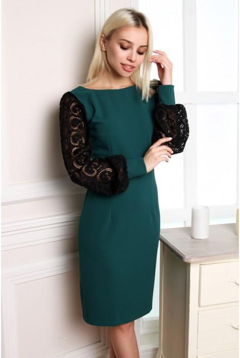 Платье Eirice изумруд