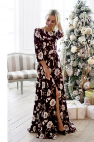 Платье Elizabett винное