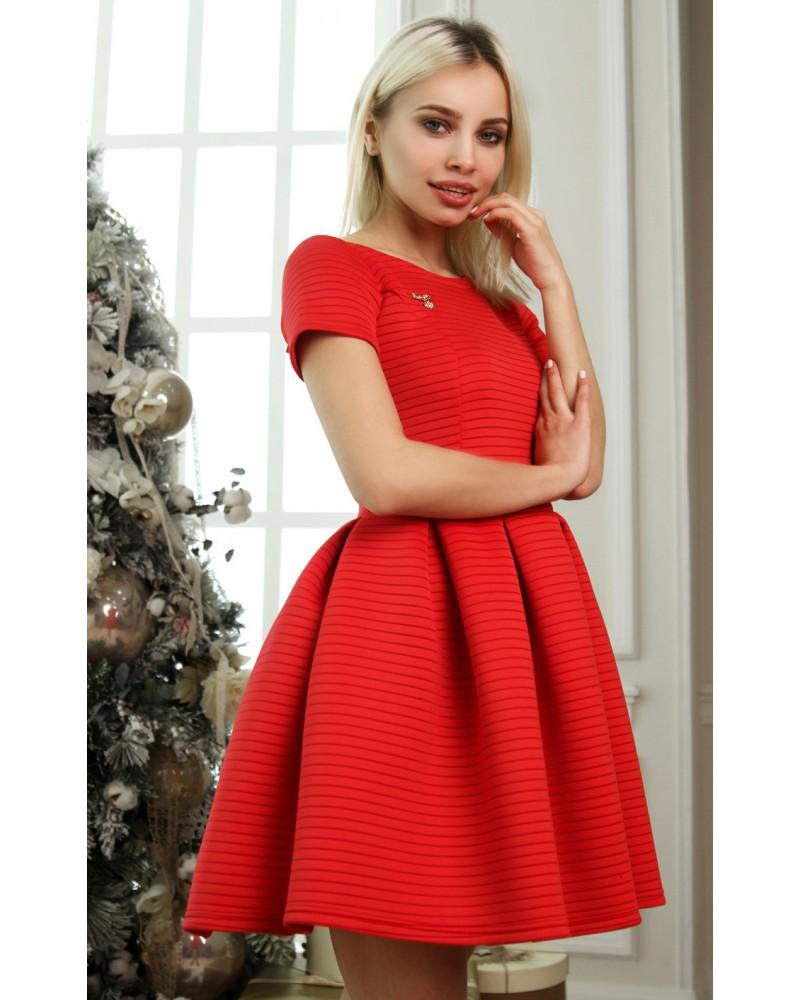 Платье Shanti красное