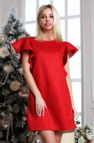 Платье State  красное Series