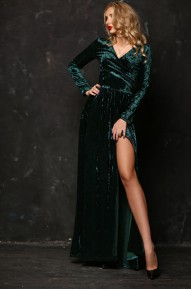 Платье Kameron изумрудный