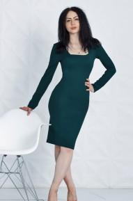 Платье Keila изумрудное  Series