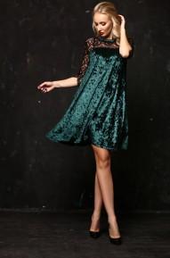 Платье Pam изумрудный