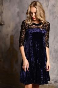Платье Pam фиолетовый