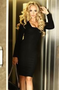 Платье Keila черное
