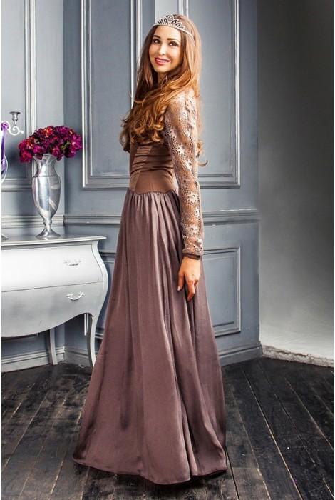 Платье в пол Stella