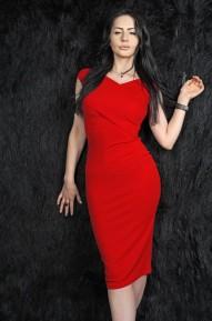 Платье Telica красное Series