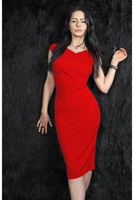 Платье Telica красное