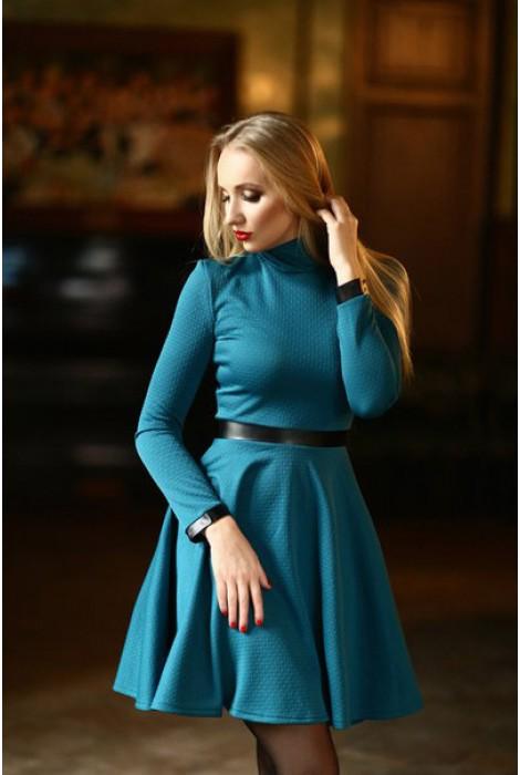 Платье Teia бирюза