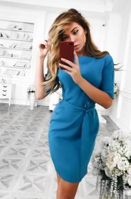 Платье Work голубое