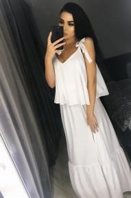 Платье White