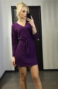 Платье Wamp фиолетовое