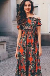 Платье в пол Mone