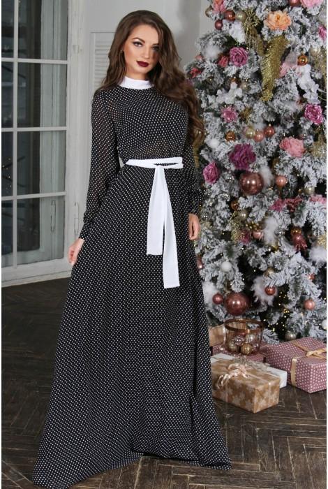 Платье в горошек Milana