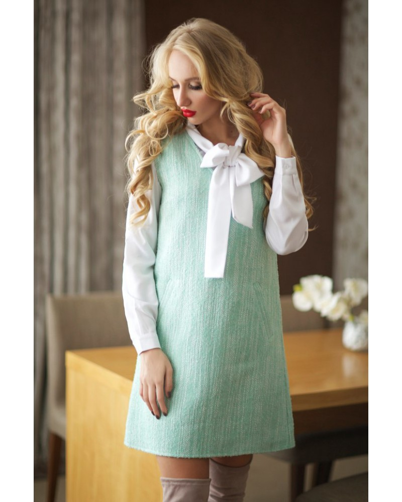 Платье-сарафан Barbi мятное Series