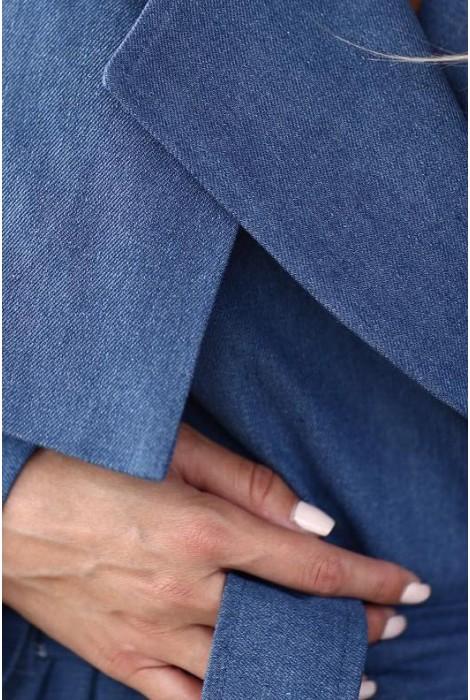 Тренч Worm джинс