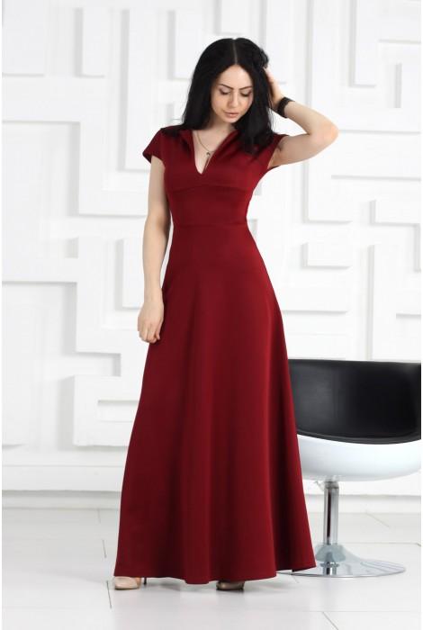 Платье Beiton винное