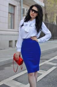 Юбка Afrodita синяя