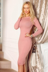 Платье Debora  розовое  Series