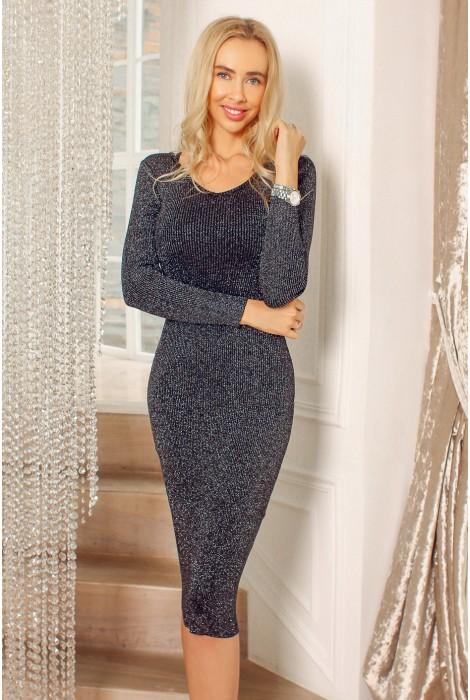 Платье Debora  черное