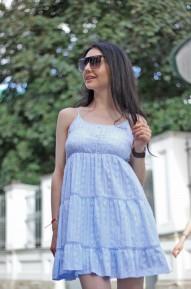 Платье Bani голубое Series