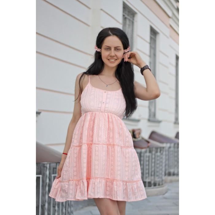 Платье Bani розовое