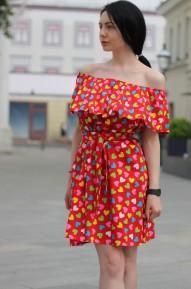 Платье Bewen (Арт. T313) красное