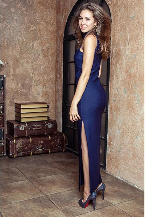 Платье Elegance синие