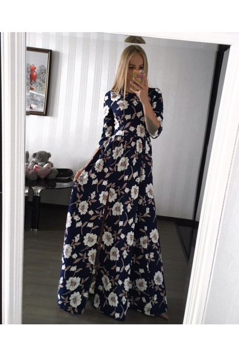 Платье Elizabett синие