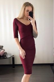 Платье Deikon винное Series