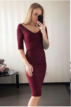 Платье Deikon винное